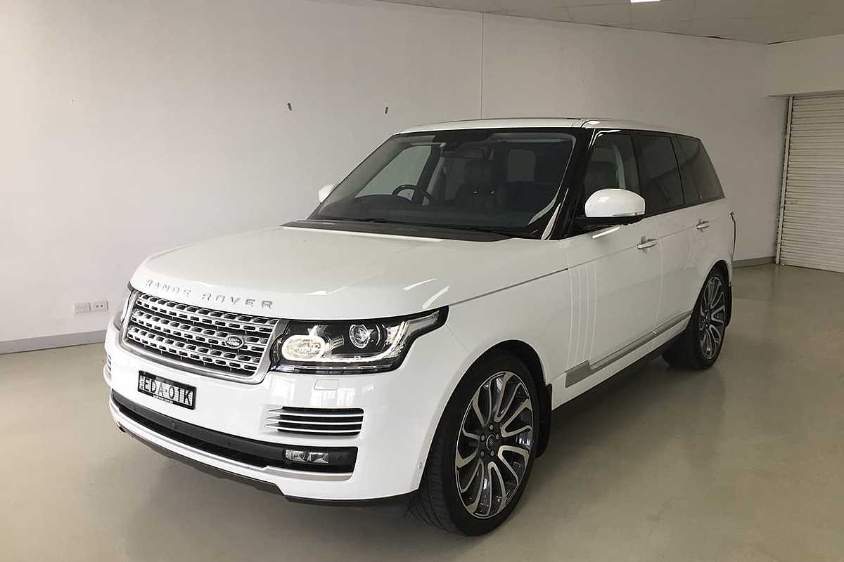 2016 LAND ROVER RANGE ROVER SDV8 Autobiography L405