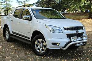 2012 HOLDEN COLORADO LTZ RG