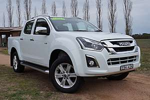 2018 ISUZU D-MAX LS-T High Ride (No Series)